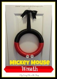 Mickey Mouse Wreath Tutorial