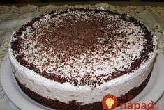 Konečne cesto bez múky, ktoré je ako pavučinka: Naučte sa geniálnu čoko tortu za pár minút, cesto bez zrnka múky!