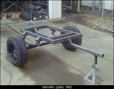 jeep trailer build - Google Search