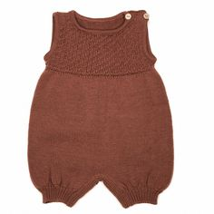 MeMini Evian Romper Rust Brown | MeMinishop