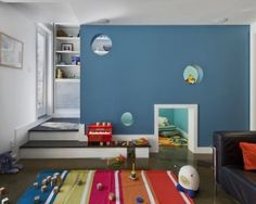 Minimalist Kids Playroom Furniture Decor