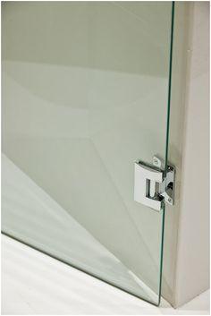 Box de Vidro - Box com porta de abrir - Sandey Vidros - Dobradiça Glass