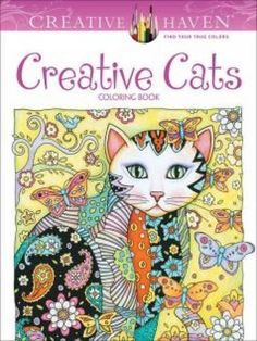 Creative Haven Cats Coloring Book Books By Marjorie Sarnat