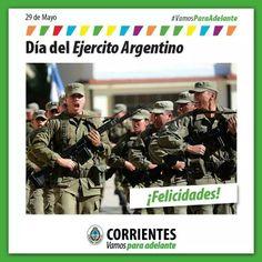 Día del Ejército Argentino!!! Felicidades!!! #VamosParaAdelante