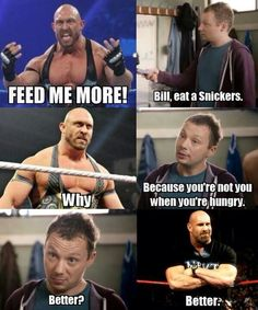 wwe snickers caption