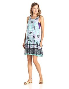 MINKPINK Womens Rainbow Boho Dress Multi Medium >>> Read more  at the image link.