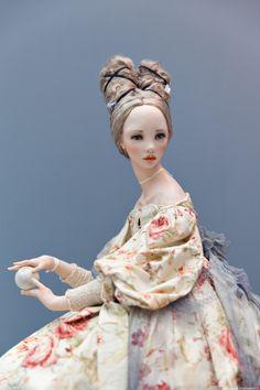 Ooak Dolls, Barbie Dolls, Enchanted Doll, Murals Street Art, Realistic Dolls, Doll Painting, Doll Costume, Little Doll, Doll Crafts