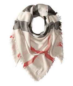 Burberry Kids Boiled and Stumbled Scarf (Little Kid/Big Kid) (Stone) Scarves