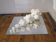 Thomas Robertello Gallery - Artists - Sarah Hicks - White Gradient