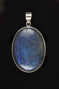 Pendants P00016 Silver 925° stone Labradorite