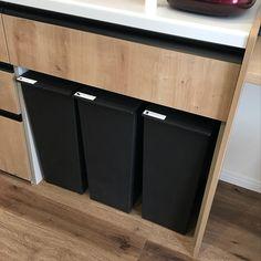 Kitchen/ゴミ箱/ダストボックス/カウンター下/リクシル/クード...などのインテリア実例 - 2018-03-26 13:27:53 | RoomClip (ルームクリップ)