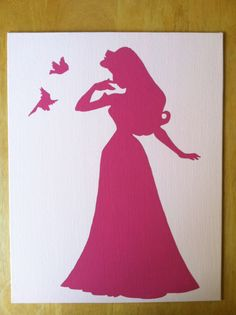 Sleeping Beauty and Birds Silhouette  https://www.etsy.com/your/listings?ref=si_your_shop