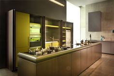 #showroom #kitchen #design #interiors #kitchens #Rossanacucine #living