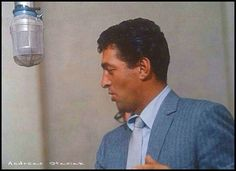 Dean Martin....he was one of the all-time classic crooners. Love his voice.