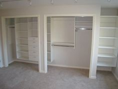 Bedroom Reach In Closet Minneapolis St Paul Minnesota Mn