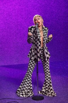 Miley Cyrus, Ryan Tedder, Stand By You, Stage Outfits, Female Singers, Music Artists, Overalls, Platform, Celebrities