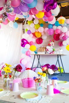 Exceptional The Decorations At This Trolls Birthday Party Are Incredible!!! What An  Explosion Of