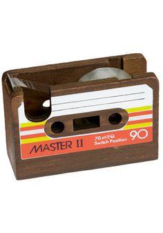 """Tape"" dispenser. Awesome! Visual puns make me happy."