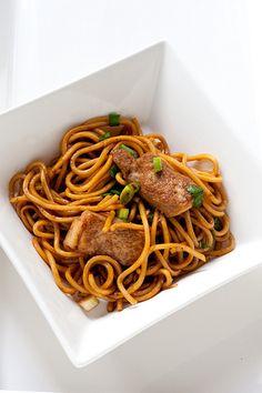 Hokkien noodles with tofu