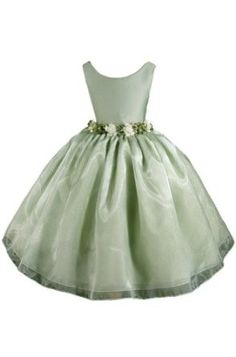 AMJ Dresses Inc Girls Sage Flower Girl Easter Dress Sizes 2 to 12,$29.99$29.99: #Girl #Dress