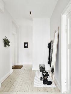 bright wooden floor!