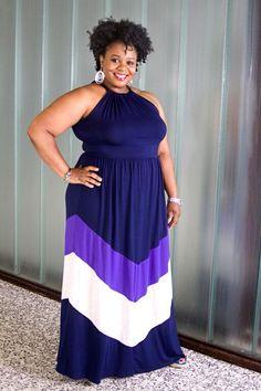 GT Plus Size Maxi Dress 1