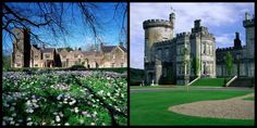 Ireland is home to beautiful wedding venues, especially its castles. Here are the top ten best castles for weddings in Ireland.        If you are looking for a beautiful wedding in breathtaking surroundings, Ireland is the place Modern Castle, Castles In Ireland, Irish Sea, Beautiful Wedding Venues, Irish Wedding, Beautiful Castles, Photo Location, Top Ten, Places To See
