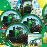 John Deere Birthday Express Themed Party (Also has tractor shaped cookie cutter).