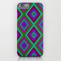 Colorful Diamond Pattern iPhone 6 Slim Case