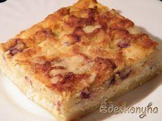 Az én édes konyhám: Lusta asszony túrós sütije - avagy a szórós túrós sütemény