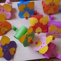 Toilet paper roll animals craft idea for kids | Crafts and Worksheets for Preschool,Toddler and Kindergarten
