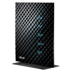 The wireless-N Gigabit router is the latest ASUS device, offering speeds and a stylish Black Diamond design. It can be placed upright or wall-mounted, offering better and easier home network enhancement. Router Wifi, Wireless Router, Unique Gadgets, Asus Laptop, Usb, Computer Accessories, Black Diamond, Soho, Shopping