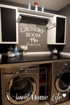 Design Ideas for your Laundry Room Organization (102)