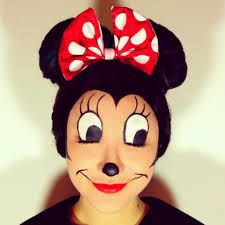 mickey mouse face paint - Google Search