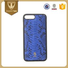 Genuine Python Snakeskin Leather Cell Phone Case for iphone 6s plus / iphone 7 case custom OEM/ODM