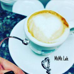 Pausa caffè con cuore E bracciale MèMè Lab. www.memelabaccessori.com
