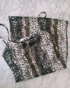 """𝐒𝐓𝐔𝐃𝐈𝐎 𝐂 on Instagram: """"Snakeskin dress for @jayde.donaldson 😍😍🐍🐍🌟🌟"""" Snake Skin Dress, Studio C, Boho Shorts, Instagram, Tops, Dresses, Women, Fashion, Vestidos"""
