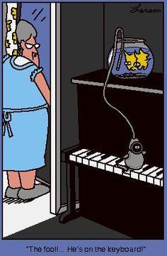"""The Far Side"" by Gary Larson. My favorite Far Side ever! Far Side Cartoons, Far Side Comics, Funny Cartoons, Haha Funny, Funny Jokes, Hilarious, Funny Stuff, Gary Larson Far Side, Gary Larson Cartoons"
