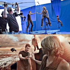 Behind the sences of the Divergent Series: Allegiant (Part 1)... This is too cool!