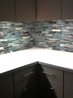 Glass Kitchen Backsplash: Zumi Glass Mosaic | Complete Tile