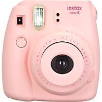 Ta morsomme bilder med det analoge kameraet Fujifilm Instax Mini 8 og fremkall de umiddelbart mens du enda er på festen, konserten eller familiesammenkomsten.
