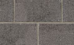 Profile Series Block in Charcoal Quartz by Brampton Brick. The compressive strength of Profile Series concrete block units is suitable for use in a masonry-bearing or single wall. This product is also manufactured with a water repellent additive and is permeable to water vapor. Smooth Face, Concrete Blocks, Brick, Charcoal, Quartz, Profile, The Unit, Water