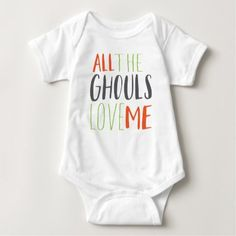 BABY HALLOWEEN ONSIE BABY BODYSUIT - shower gifts diy customize creative
