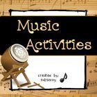 Create your own musical instrument activity!