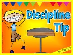 Teach123 - tips for teaching elementary school: Discipline Tip: Seating Chart