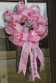 Miss Kopy Kat: How to Make Deco Mesh Wreaths