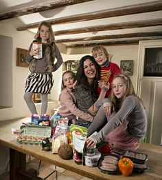 Louise Carpenter and family