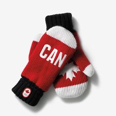 Sochi 2014 Canadian Olympic Collection Mittens
