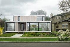 Fantastisch Modern Single Family Home Design · HausContainhäuser  VersandContainerModerne Modulare ...