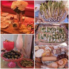 appetizers (crudite, olives & pickles, cheeses, grilled Caesar salad, stuffed celery) for prohibition speakeasy party. 1920 Theme Party, Gatsby Themed Party, 1920s Party, Great Gatsby Party, 50th Party, Party Themes, Party Ideas, Prohibition Party, Speakeasy Party